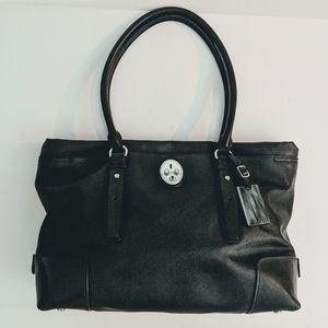 Tumi Villa Turin Shopper Tote Saffiano Leather